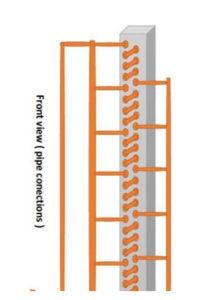 نقشه طراحی کندانسور داکت اسپلیت