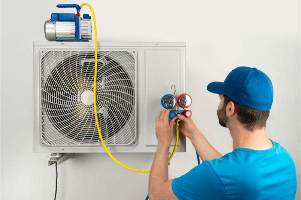 شارژ کردن کولر گازی