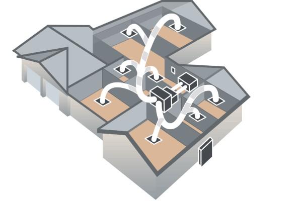 نصب و راه اندازی داکت اسپلیت